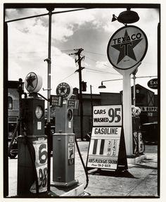 Gasoline Station. 1936  Berenice Abbott  (via Metmuseum)