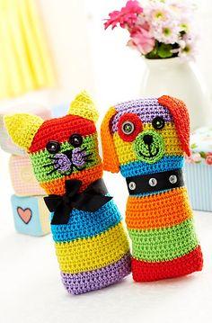 Ravelry: Cat & dog toys pattern by Christine Harvey