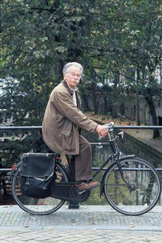 Dick Bruna on a bike! Off course: Utrecht, bike-city numero uno!