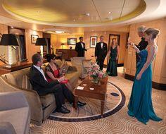 7 Cruise Ship Suites I GF- Luxury
