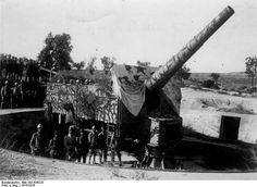 Verteidigung:  Die Dardanellen schützten die Osmanen mit schweren Geschützen....