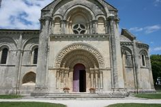 South portal, St. Pierre church, Aulnay, France, 1120-1140.