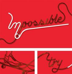 Typographic Illustrations by blindSALIDA   Inspiration Grid   Design Inspiration
