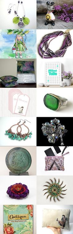 Spring Day by Laura P. on Etsy--Pinned with TreasuryPin.com