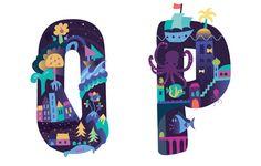 Wonderland typeface - Petra Blahova