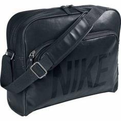 d980e3687872 Nike Heritage SI Track Retro BA4358 Black UnisexShoulder Bag Track Bag
