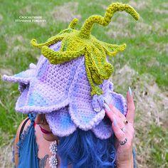 Crochet Fairy, Cute Crochet, Crochet Flowers, Crochet Hooks, Knit Crochet, Crotchet, Diy Crochet Projects, Crochet Crafts, Crochet Designs