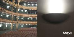 Our advanced Corvi #LED Spot 4Q - lighting the Teatro Campos #Spain