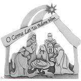 Nativity Scene Standing Nativity Plaque