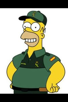 Homer Guardia Civil.
