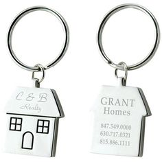 Would be cute with their new keys in a basket with take-out menus, map, list of important/frequently called numbers, etc as a housewarming/thank you gift Real Estate Business Cards, Real Estate Marketing, Real Estate Gifts, Trade Show Giveaways, Bridal Show, Creative Thinking, Brand It, New Home Gifts, Open House
