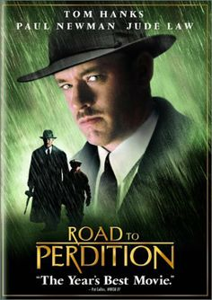 Road to Perdition.  This movie is definitely character driven.  Hanks plays a hitman who comes to realize in order to save his son (who witnessed a murder)  he must kill the only father her ever knew (Paul Newman), a crime boss who took him in as a child and raised him as his own. Daniel Craig plays the man's real son, a ruthless killer, who knows his father always preferred Hanks.  Jude Law is the assassin hired by Craig to find and kill Hanks and his son.