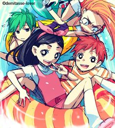 Phineas and ferb anime :3