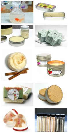 These homemade bath, body and beauty holiday gift ideas make unique DIY Christmas gifts and homemade stocking stuffers for everyone on your list!