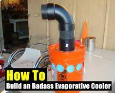 How to Build an Badass Evaporative Cooler