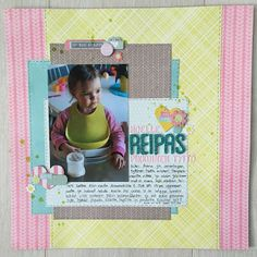 ninarsku. scrapbook layout