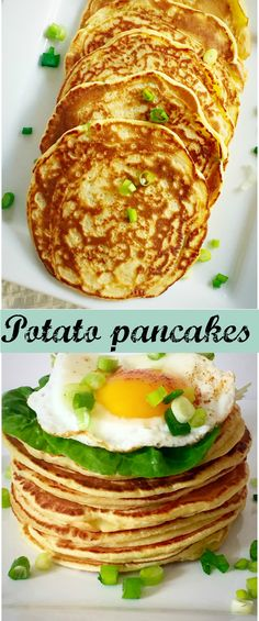 Potato pancakes, the ideal treat for Pancakes Day or Mardi Gras. You can either have them for breakfast or any time during the day. A quick and simple recipe.