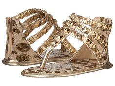 MICHAEL Michael Kors Kids Baby Joy Kris (Infant/Toddler) Gold/Cheetah - Zappos.com Free Shipping BOTH Ways