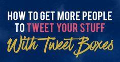 Want more tweets? Ho