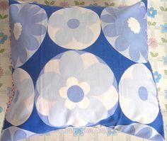 Pomme de Jour Vintage Fabric Cushion Cover  1970s by Pommedejour