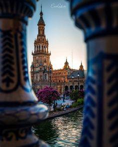 Seville Spain, Blue Brown, Big Ben, Travel, Viajes, Sevilla Spain, Destinations, Traveling, Trips