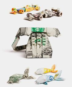 Money Origami by Won Park