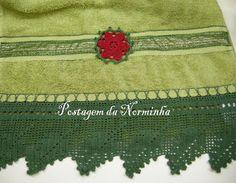 OFICINA DO BARRADO: Croche - Um pequeno detalhe ...