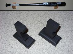 Horizontal Baseball bat display rack case shelf by CustomDisplays, $9.99