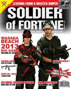 Wasaga Beach Paintball Novelty Magazine Cover | Badlands Paintball Gear Canada