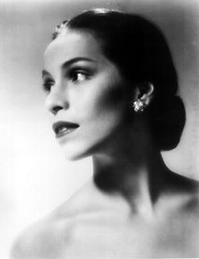 Oklahoman Elizabeth Maria Tallchief (born January 24, 1925) was the first Native American to become prima ballerina. From 1942 to 1947 she danced with the Ballet Russe de Monte Carlo, but she is even better known for her time with the New York City Ballet, from its founding in 1947 through 1965. Known professionally as Maria Tallchief, her family called her Betty Marie. Betty learned the Osage traditions from her grandmother, Eliza Bigheart Tallchief.