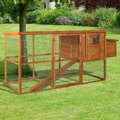 Cluckingham palace predator proof chicken run backyard for Homemade chicken coops for sale