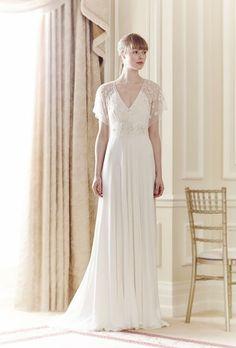 Brautkleider im Empire Stil: Beflügelt heiraten
