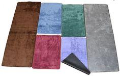 tappeto magico visto in tv microfibra antiscivolo fondo ecopelle 50x80 marrone | eBay