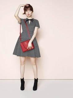 Samantha Thavasa F/W 2014 (Yoon Eun Hye - who wouldn't like her when she's like this?! )