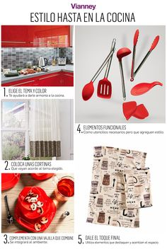 Holiday Decor, Kitchen, Red, Home Decor, Blinds, Colors, Style, Cooking, Decoration Home