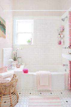 Vintage Bathroom Inspiration - My Mint and Pink Bathroom