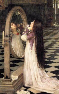 Mariana In The South - John William Waterhouse. Pre Raphaelite Art