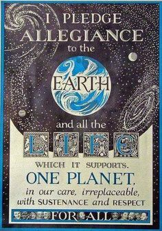 Allegiance to the Earth