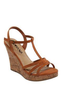 Kealie T-Strap Wedge Sandal by Kiss & Tell on @HauteLook