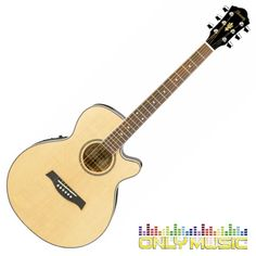 Guitarra Electroacústica Ibanez Color Natural