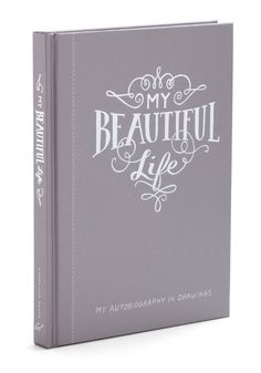 This is so cute. Maybe for my birthday? My Beautiful Life Drawing Journal, #ModCloth @Landon Ennis Herrick