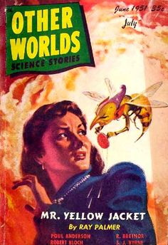 I love me some vintage pulp art, and this cover by H.W. McCauley is one of my favorites.