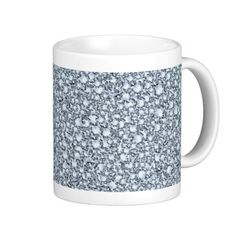 Encrusted Diamonds Look Glitter Patter Coffee Mug