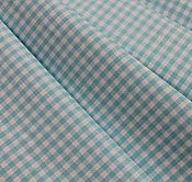 """Looking for top quality all-cotton ginghams in lots of different colorways? Hereya go!  Farmhouse Fabrics, 1/8"""" Aqua Luxury Pima Cotton Gingham, 58"""""""