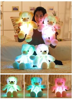50% OFF for a LIMITED TIME ONLY! The Amazing LED Teddy Bears❤️ Shop now