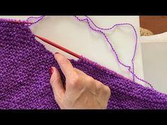 Yuvarlak Yaka Açma / HowtoKnit Round Neck - YouTube Easy Knitting, Knit Crochet, Crochet Necklace, Make It Yourself, How To Make, Blog, Youtube, Hat Patterns, Mary