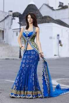 Indian Bridal and Casual Saree - Lehenga Choli Pakistani Outfits, Indian Outfits, Indian Clothes, Indian Attire, Indian Wear, India Fashion, Asian Fashion, London Fashion, Indische Sarees
