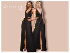 New sexy gown! Enjoy Found in TSR Category 'Sims 4 Female Everyday' The Sims 4 Pc, Sims 4 Cas, Sims Cc, Maxis, The Sims 4 Cabelos, Cc Fashion, Sims 4 Characters, Sims4 Clothes, Sims 4 Dresses