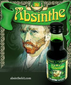 Welcome to Absinthe Kit - The only store that provides natural Absinthe never seen or tasted before. World Wide Shipping. Artemisia Absinthium, Vodka Shots, Green Fairy, Alcoholic Drinks, Herbs, Pinterest Blog, Bitter, Ads, Posters