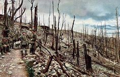 Colour photographs of the German Front, 1914-1918